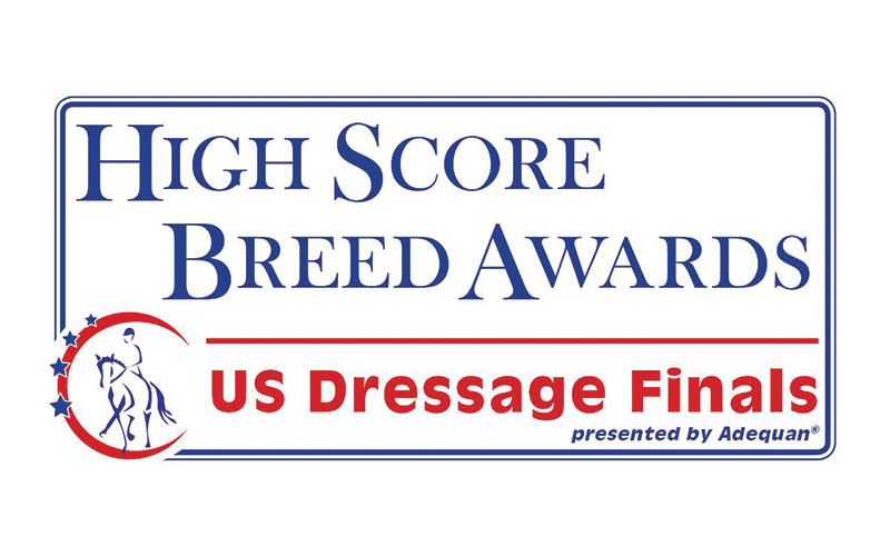 US Dressage Finals High Score Breed Awards